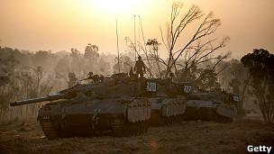 Conflito Israel-Palestina / Getty