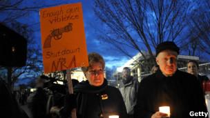 Vigilia en Washington contra el porte de armas