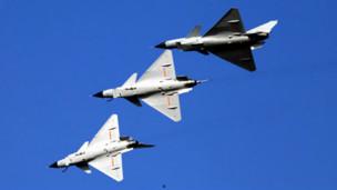 Tập trận của không quân Trung Quốc