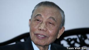 Cựu Phó Thủ tướng, Ngoại trưởng Nguyễn Mạnh Cầm (ảnh của Tuần Việt Nam)