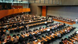 Reunião da OMC (Foto AP)