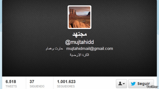 Twitter de @mujtahidd