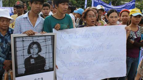 Cuộc biểu tình ở Phnom Penh