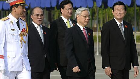 Các lãnh đạo cao cấp nhất của Đảng CSVN