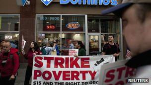 pancarta contra la pobreza