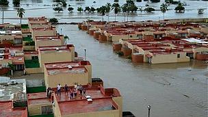 Inundaciones en México.