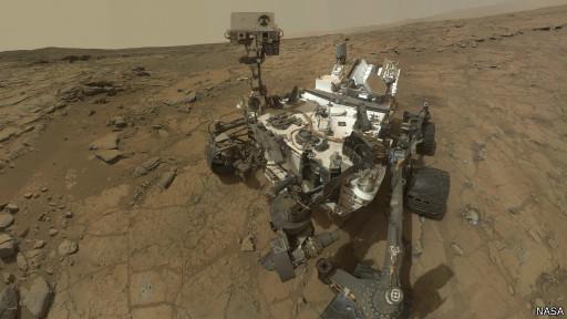 Sonda Curiosity (Nasa)