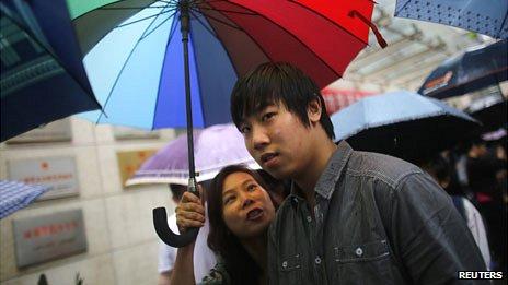 Estudiante en Shanghái