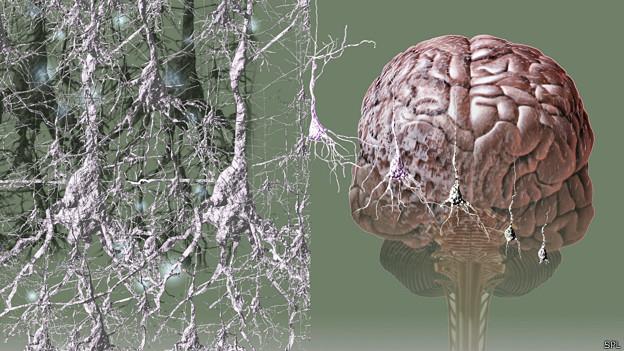 Ilustración artística de demencia