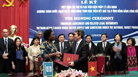 World Bank ký kết với VN