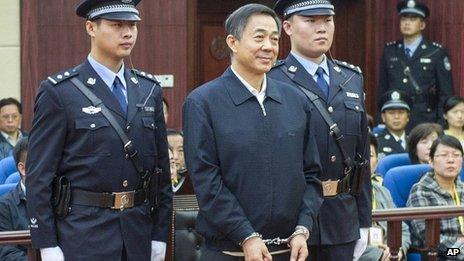 Ông Bạc Hy Lai tại tòa