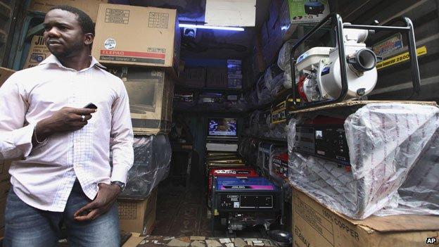 Generadores eléctricos en venta en Lagos, Nigeria