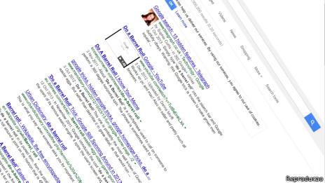 Do a barrel roll | Crédito: Reprodução Google