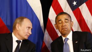 Putin y Obama