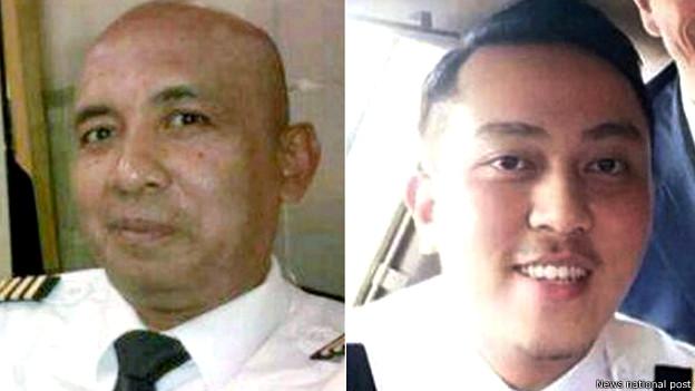 Nhà riêng của phi công 53 tuổi (trái) đang được cảnh sát lục soát.