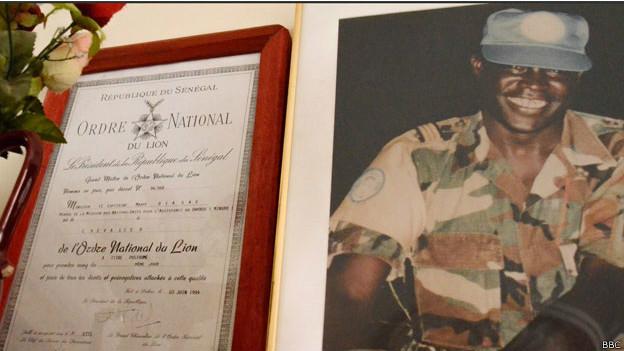 El reconocimiento entregado por EE.UU. a Mbaye