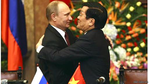 Lãnh đạo Nga và Việt Nam
