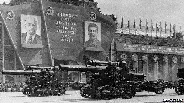 Tanques en 1947