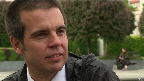 Petr Sourek, fundador de los tours de corrupción