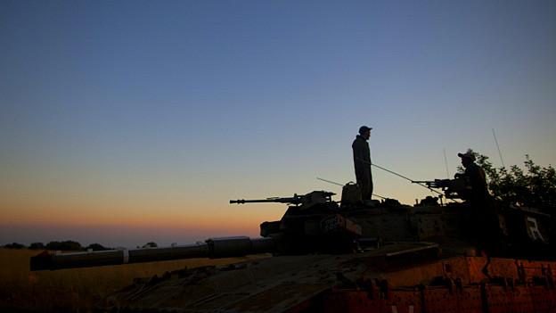 Soldados en frontera Israel y Siria