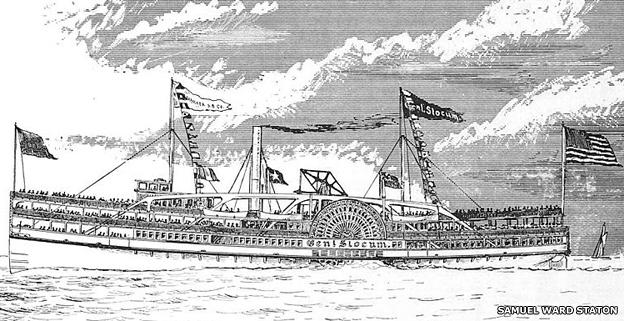 El buque General Slocum