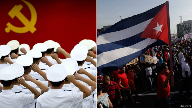 China, Cuba