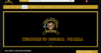 Bigbearpharma.co Internet DrugStore