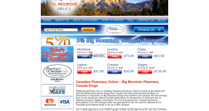 Bigmountaindrugs.com Best Online Pharmacy in U.S.