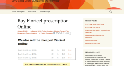 Fioricetcod.com Brand And Generic Drugs