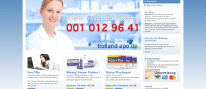 Holland-Apo.de No Doctor Visits