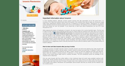Ionamin.net Pharmaceutical Shop