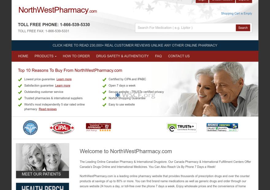 Northwestphaemacy.com 24/7 Online Support