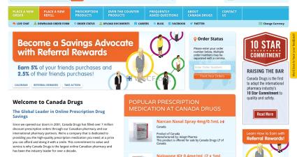 Wwwrxcareglobal.com The Internet Canadian Drugstore