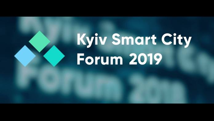 Eduard Dumitrascu, president of WSCO, keynote speaker at Kyiv Smart City Forum 2019