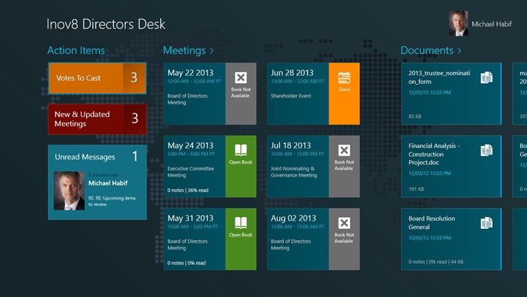 Directors Desk for Windows app for Windows in the Windows