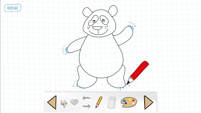 How to draw ? Listen to the lector instructions step by
