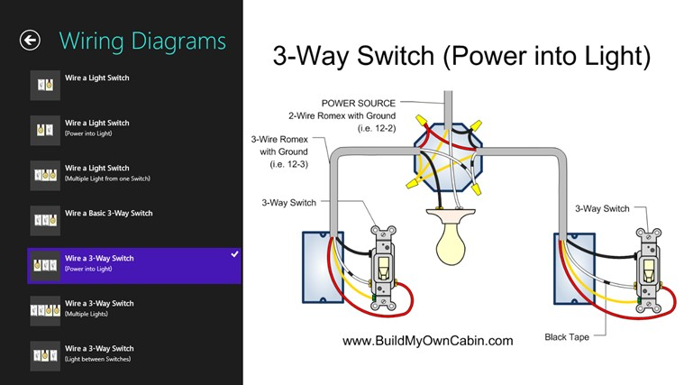Wiring Multiple Light Switches Diagram