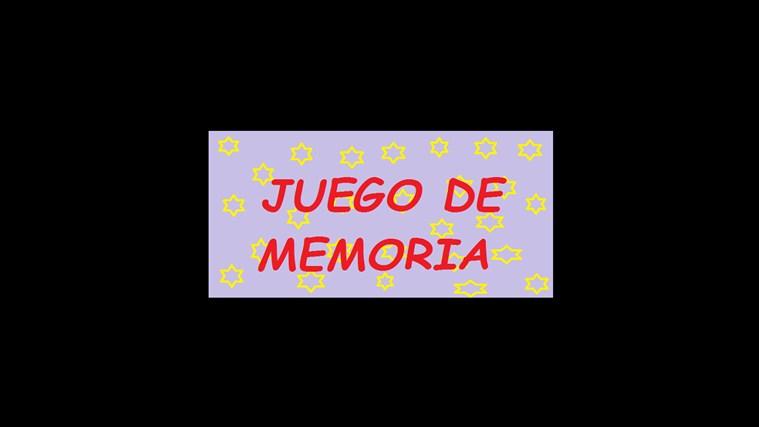 Juego de Memoria