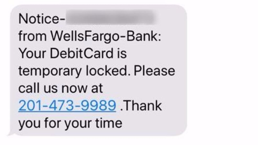 Scam Alert Woman Gets Text Message About Bank Account Being Hacked Wset