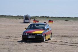 Nanu was macht ein Deutschlandauto in Dänemark