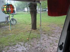 Es folgte ein Regentag