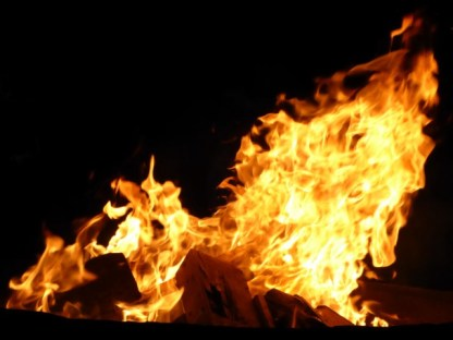 Knisterndes Feuer
