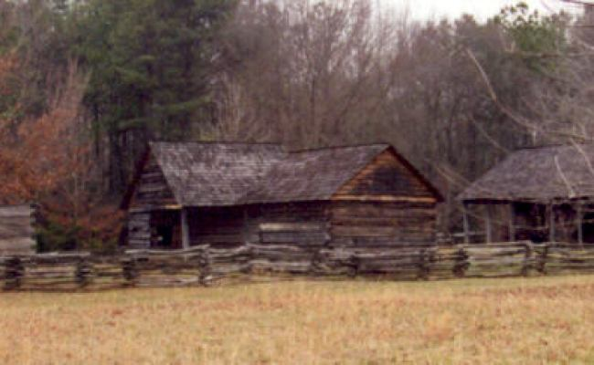 Middle Class Cherokee Home Outbuildings