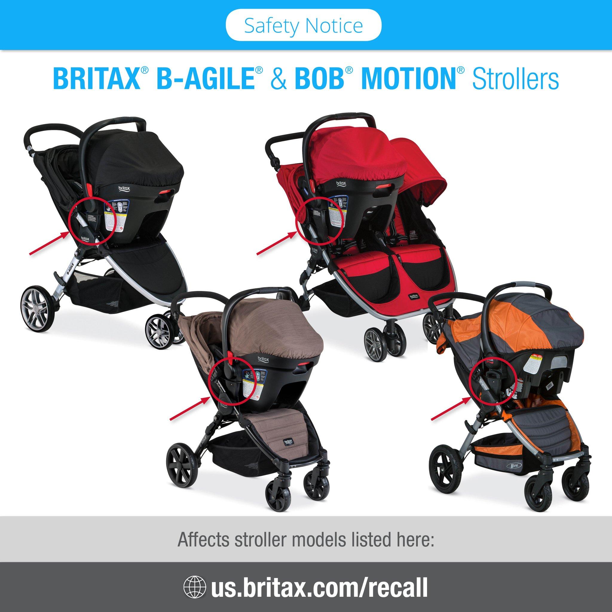 Baby Stroller Recall 2019