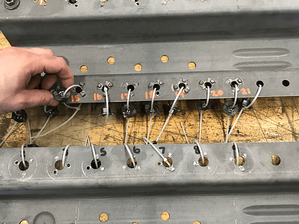 Push-out test sample | Weld Systems Integrators