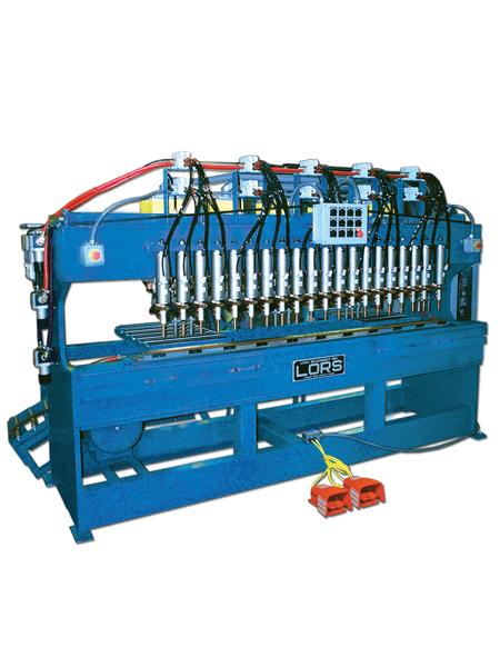 LORS Model 806 Stiffener Welder | blue