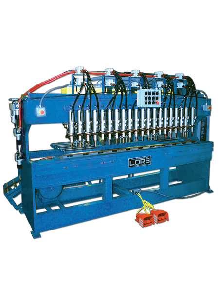 LORS Model 806 Stiffener Welder | blue