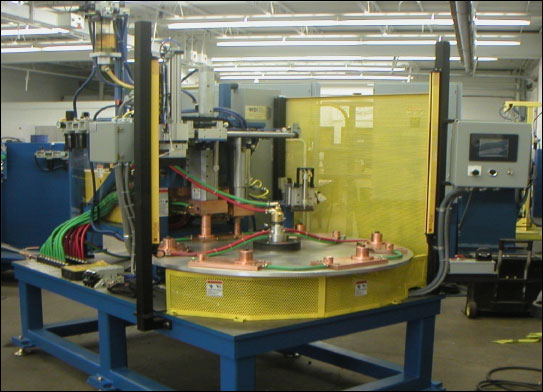 WSI Turntable Welder | Weld Systems Integrators