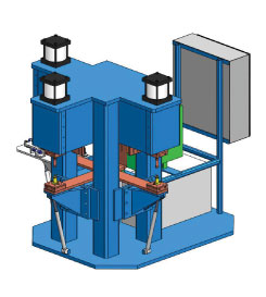 W3CD-9J-12 - Three Selectable Head CD Welder | Weld Systems Integrators