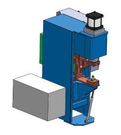 WCD-9J-12 - Single Stationary Head CD Welder | Weld Systems Integrators